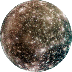 Callisto - Jupiter's most distant Galilean Moon