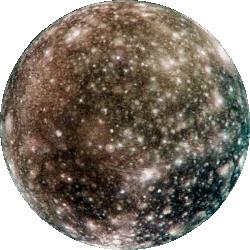 Callisto - Jupiter's most distant Galilean Moon