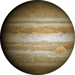 Jupiter - The First Gas Giant and the Fifth Planet