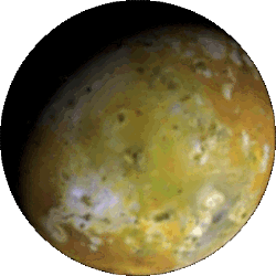 Io - Jupiter's closest and most volcanically active Galilean Moon