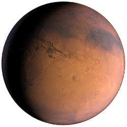 Mars - The Fourth Rocky Planet