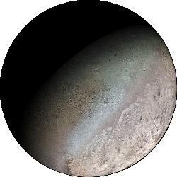 Triton - Neptune's largest moon.