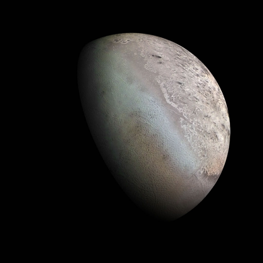 voyager 2 neptune triton - photo #16