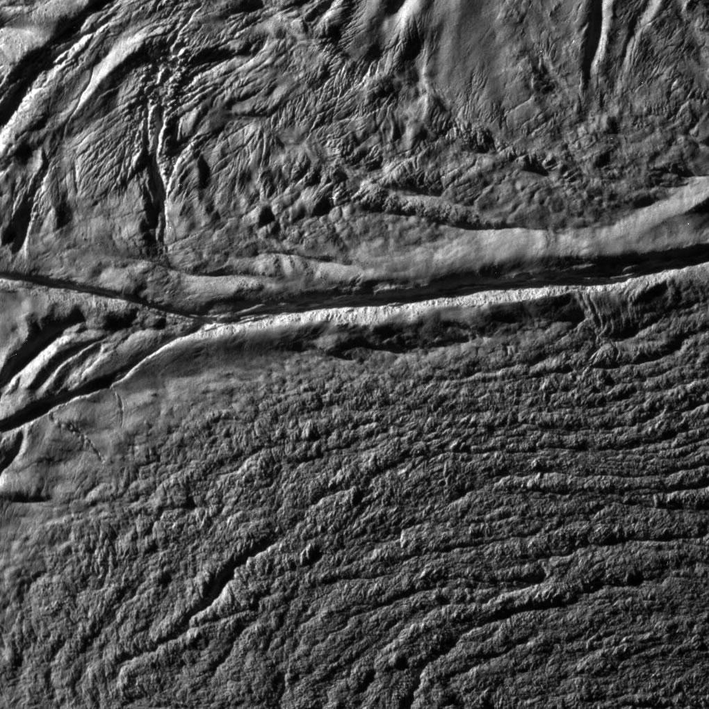 Enceladus Moon Surface Cassini Enceladus Surface 2