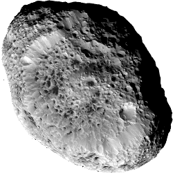 Hyperion - A moon of Saturn.