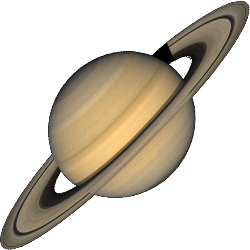 Saturn - The Second Gas Giant and the Sixth Planet.