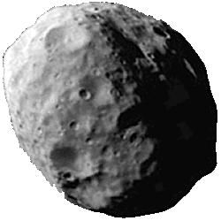Janus - A moon of Saturn.