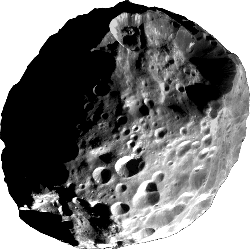 Phoebe - A moon of Saturn.