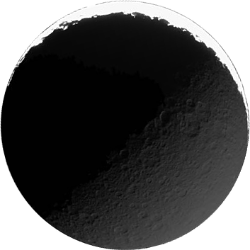 Rhea - A moon of Saturn.