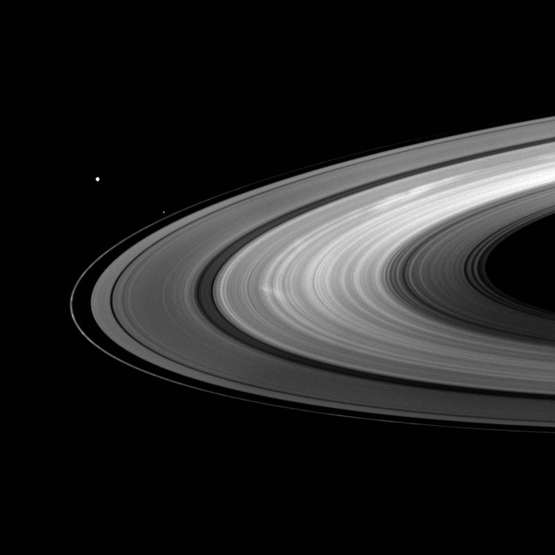Saturn - Rings - Image Gallery