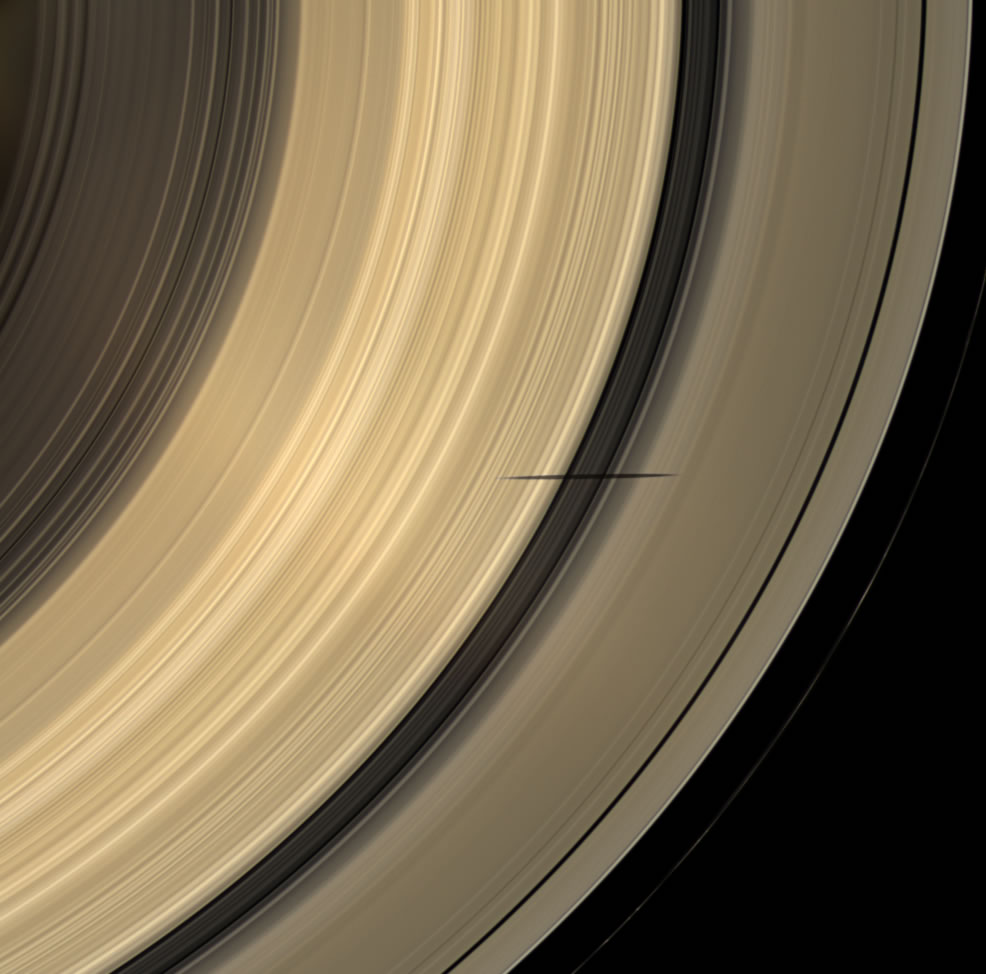 Saturn - Rings - Image Gallery