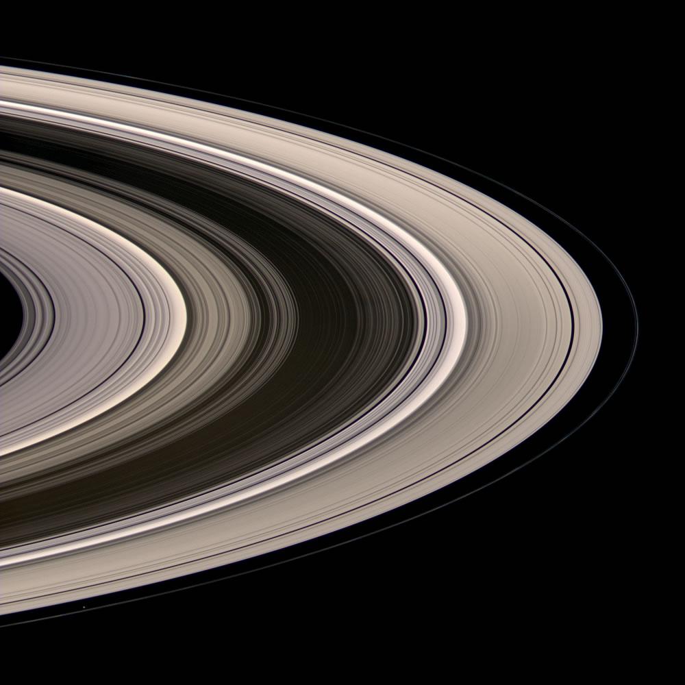 Saturn Rings Image Gallery