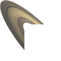 Saturn's Rings - Complex bands of ice and rock around Saturn.