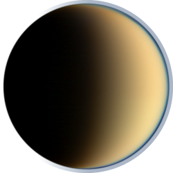 Titan - A moon of Saturn.