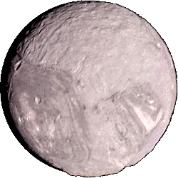 Miranda - A moon of Uranus.